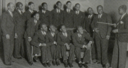 Image of the Benny Moten Orchestra.