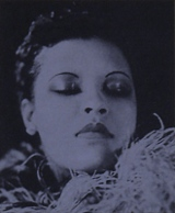 Image of Billie Holiday.