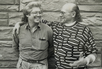 Image of Larry Coryell and Don Lanphere.