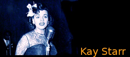 Image of Kay Starr singing.