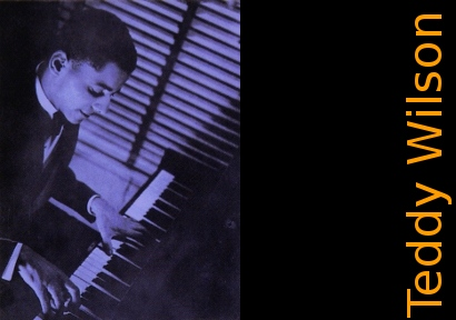 Image of Teddy Wilson on piano.