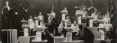 Image of The Tommy Dorsey Orchestra, summer 1951.