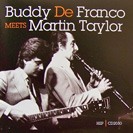 Image of Buddy De Franco Meets Martin Taylor CD.