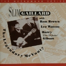 Image of Hep CD6 - Slim Gaillard - The Legendary McVouty