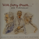 Image of Hep CD2073 - Joe Temperley - With Every Breath