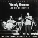 Image of Hep CD34 - Woody Herman & His Orchestra - The V-Disc Years - Vols 1 & 2 - 1944-46