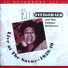 Image of Hep CD82 - Ella Fitzgerald - Live at the Savoy - 1939-40