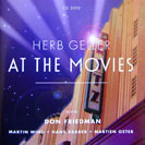 Image of Hep CD2092 - Herb Geller - At the Movies